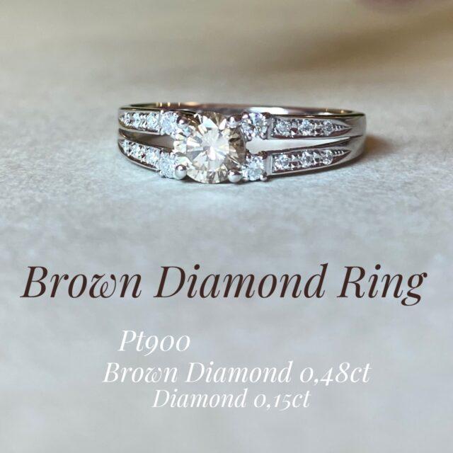 ブラウンダイヤモンドその1♪
